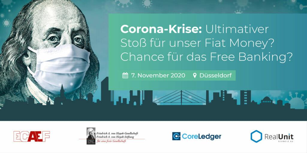 Währungskonferenz Düsseldorf Einladung 2020