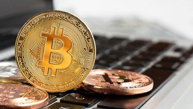 Bitcoin Wert Symbolbild